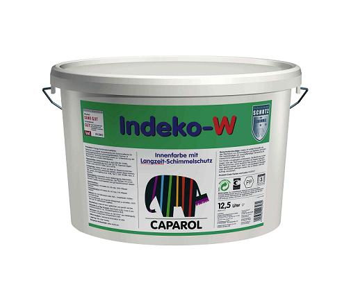 Pittura antimuffa lavabile traspirante opaca - Indeko-W