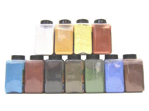 KEIM Purkristalat pigmenti minerali