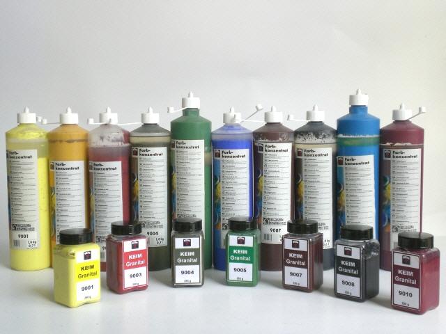 Granital Concentrati Tinte monocromatici