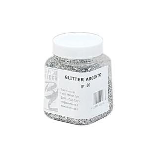 Glitter argento - effetti luciccanti
