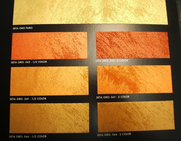 Pareti Glitter Oro : Decorazione perlescente seta effetto prezioso